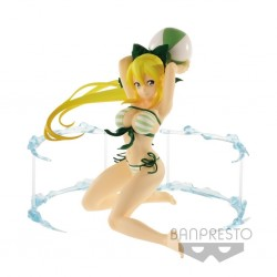 Sword Art Online Code Register EXQ Figure Aqua Sylphide Leafa Banpresto