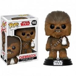 Figurine POP Star Wars E8 : Chewbacca
