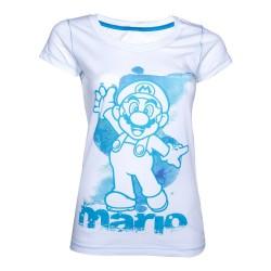 T-Shirt Mario Femme