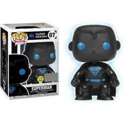 Figurine FUNKO POP DC Comics : Superman silhouette Glows