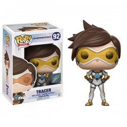 Figurine FUNKO POP Overwatch Exclusive : Tracer