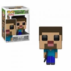 Figurine FUNKO POP Minecraft : Steve