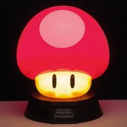 Lampe Mario 3D : Champignon