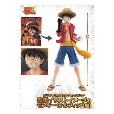 Monkey D Luffy Jumping 50TH