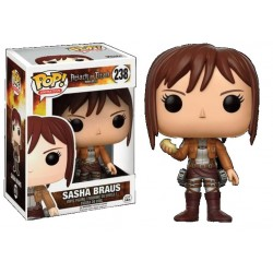 Figurine FUNKO POP AOT : Sasha Braus Exclusive