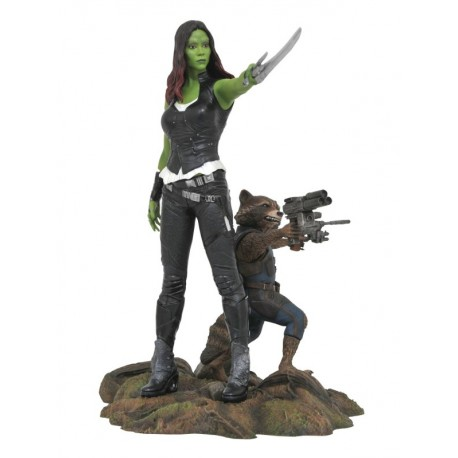 Gamora & Rocket : Guardians Of The Galaxy Vol.2