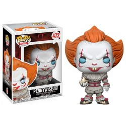 POP IT : Pennywise White Boat