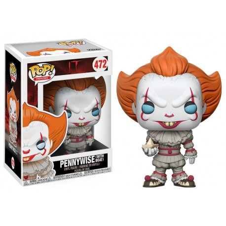 Figurine POP FUNKO Pennywise With Boat