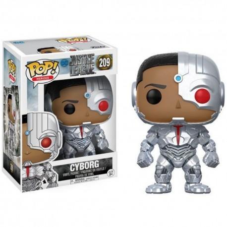 Figurine FUNKO POP Justice League : Cyborg