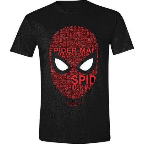 T-SHIRT Spider-Man Face Letters