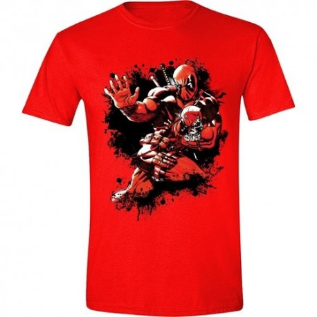 T-SHIRT Deadpool Jump