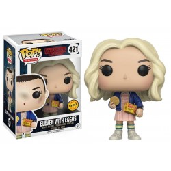 Figurine FUNKO POP Stranger Things : Eleven Eggos CHASE