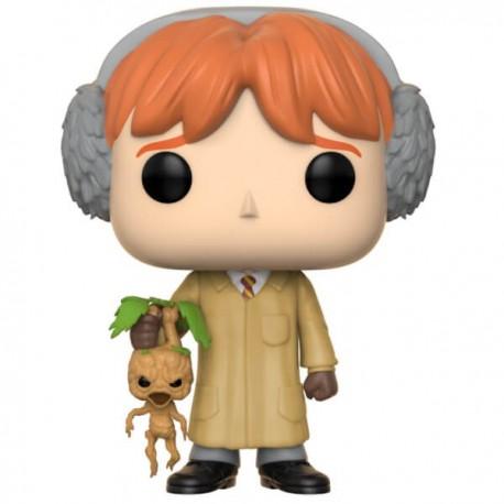 Figurine FUNKO POP Harry Potter : Ron Herbologie