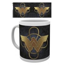 MUG Wonder Woman Logo Gold