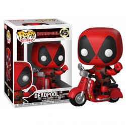 Figurine FUNKO POP Deadpool on scooter