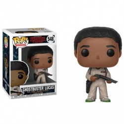 Figurine FUNKO POP Stranger Things : Lucas Ghostbuster
