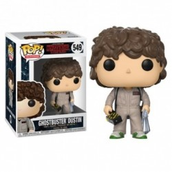 Figurine FUNKO POP Stranger Things : Dustin Ghostbuster
