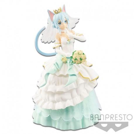 Sword Art Online Code Register Exq Figure - Wedding Sinon