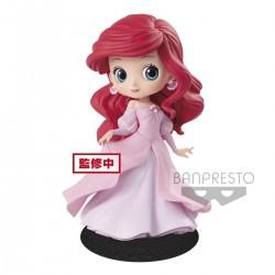 Q Posket Ariel Princess Dress Robe Rose