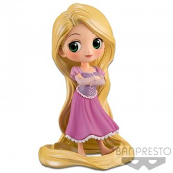 Q Posket Disney Characters - Raiponce Girlish Charm - Pastel Color Version