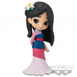 Q Posket Disney Characters - Mulan - Pastel Color Version