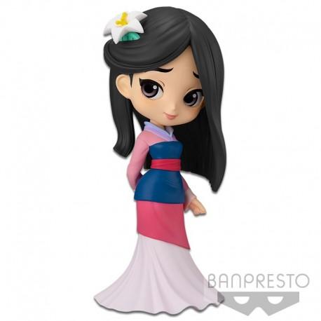 Q Posket Disney Characters - Mulan - Pastel Color Version