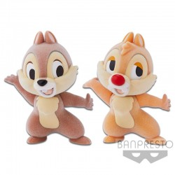 Disney Characters Fluffy Puffy - Chip 'N Dale