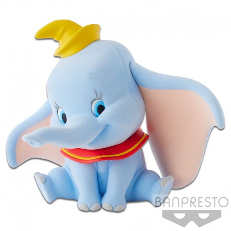 Disney Characters Fluffy Puffy - Dumbo Normal Version