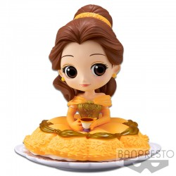 Q Posket Sugirly Disney Characters - Belle - Normal Color Version