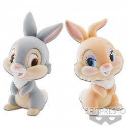 Disney Characters Fluffy Puffy - Thumper Et Miss Bunny