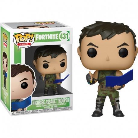 Figurine FUNKO POP Fortnite : Highrise Assault Trooper