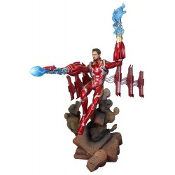 MARVEL GALLERY AVENGERS 3 UNMASKED IRON MAN MK50 DLX