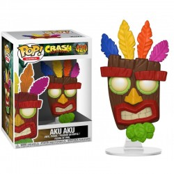 Figurine FUNKO POP Crash Bandicoot : Aku Aku