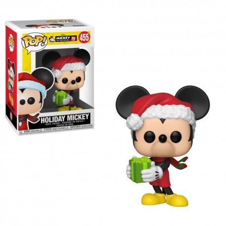 Figurine FUNKO POP Mickey's 90TH : Holiday Mickey