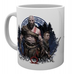 MUG GOD OF WAR KRATOS ET ATREUS BE A WARRIOR