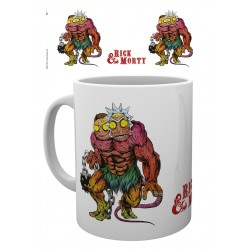 MUG RICK&MORTY DEMI GORGON