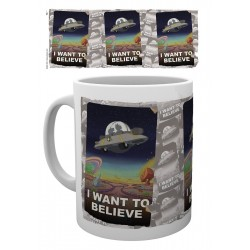 MUG RICK&MORTY - I WANT TO BELIEVE