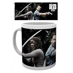 MUG THE WALKING DEAD - RICK & MICHONNE