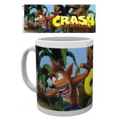 MUG CRASH BANDICOOT LOGO