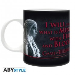 MUG GAME OF THRONE DAENERYS TARGARYEN FIRE&BLOOD