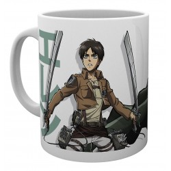 Attack On Titan Season 2 Eren Duo Mug