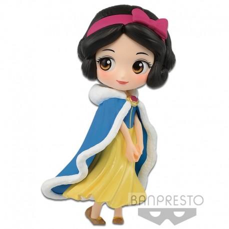 Disney Characters Q Posket Petit - Blanche Neige - winter costume