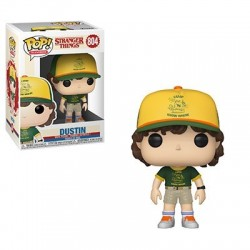 Figurine FUNKO POP : Stranger Things Saison 3 - Dustin (At Camp)