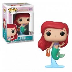 Pop! Disney : Ariel Avec Sac - Figurine Funko