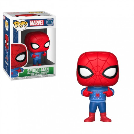 POP spiderman ugly sweater
