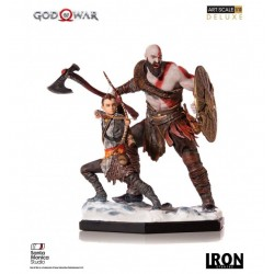 GOD OF WAR KRATOS ET ATREUS 1/10