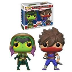 Pop! Marvel vs Capcom Gamora Vs Strider - Figurine Funko