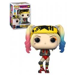 Pop! Dc Comics Birds Of Prey Harley Quinn Roller - Figurine Funko