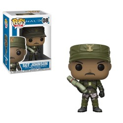 Pop! Halo Sgt Johnson - Figurine Funko