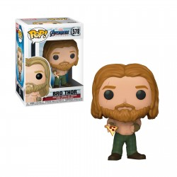 Pop! Marvel : Avengers Thor Pizza - Figurine Funko